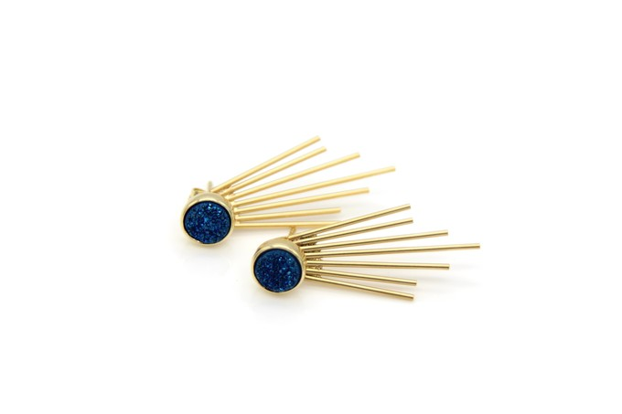 navy-caroline-druzy-stud-and-fringe-earrings